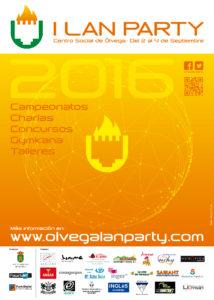 flyer olvega lan party