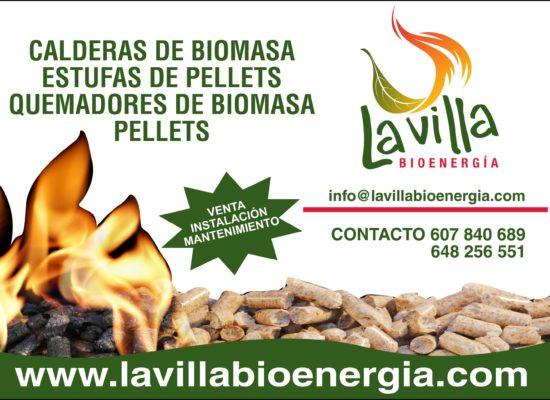 Faldón publicitario Lavilla Bioenergía